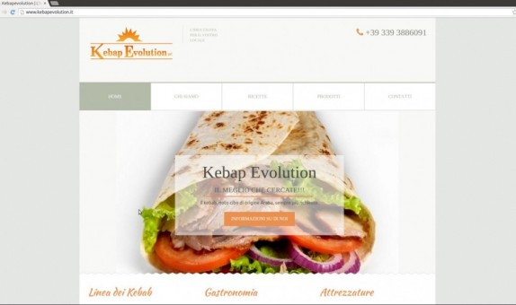 Sito web Kebapevolution.it