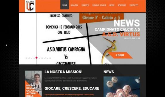 Sito web Scuola calcio Asd Virtus Metis Sport